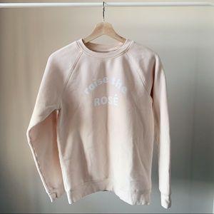 Brunette The Label - Raise the Rose Sweatshirt